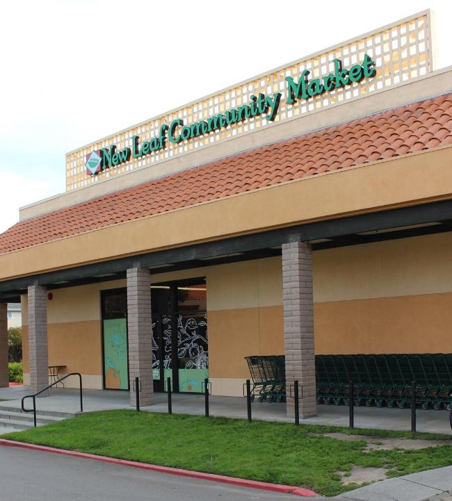 New Leaf Community Markets location in Capitola, California