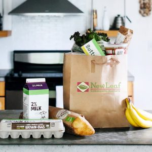 Now offering grocery delivery at New Leaf Community Markets with Instacart.