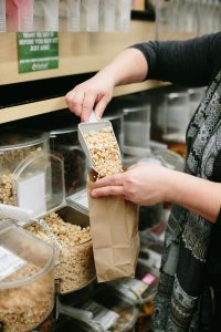 New Leaf Community Markets has a commitment to sustainability including minimizing plastic in all of our stores