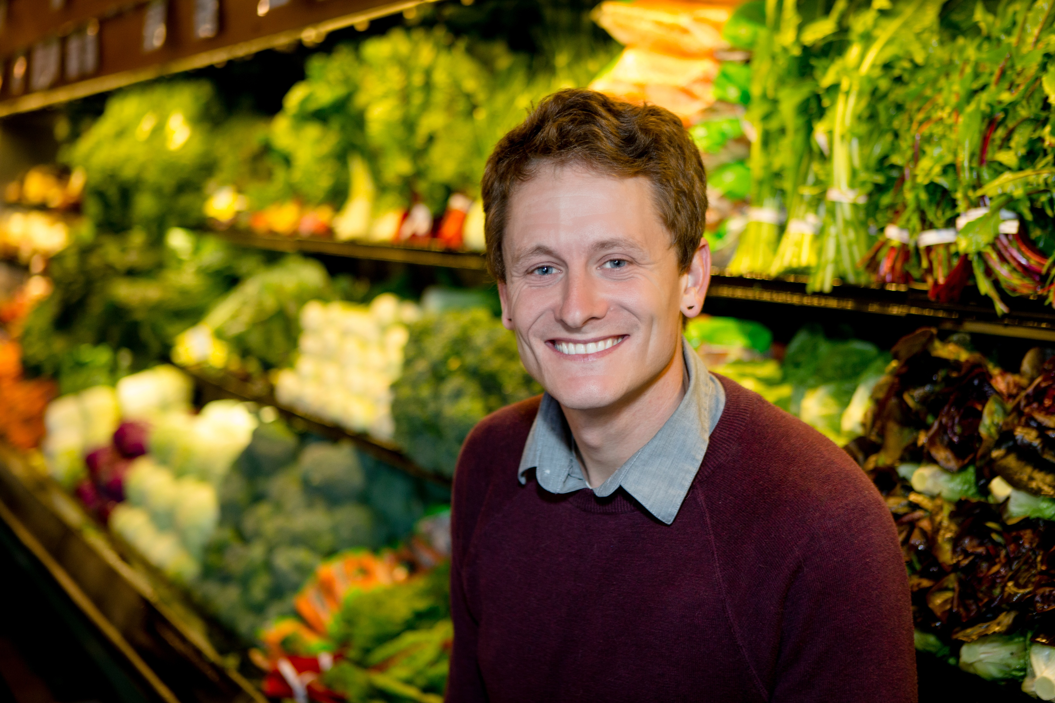 Downtown Santa Cruz New Leaf Community Markets Store Manager Casey Meyer