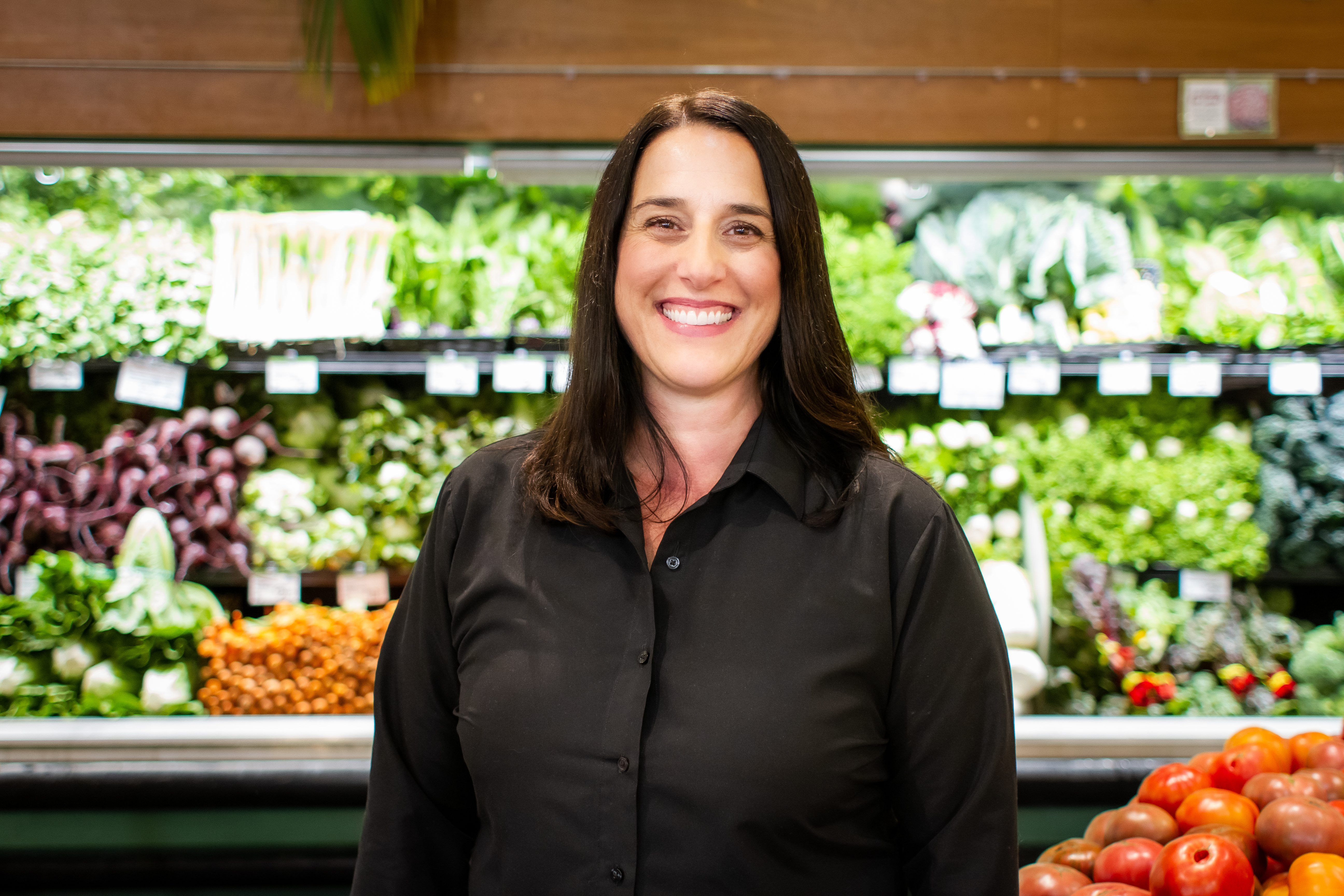 New Leaf Community Markets, Capitola location store manager, Stephanie Workman