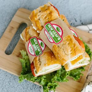 Grab and go sandwich from New Leaf Community Markets