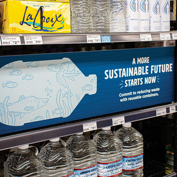 A sustainable future starts now at New Leaf Community Markets grocery stores in California
